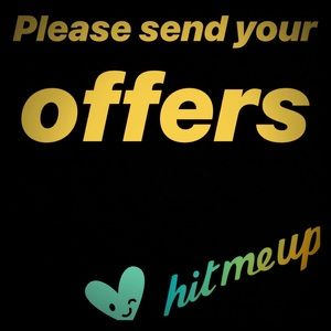 SEND YOUR OFFERS TO MY CLOSET!!!
